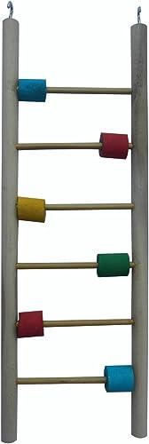 ksk Wooden Ladder Bird Toy