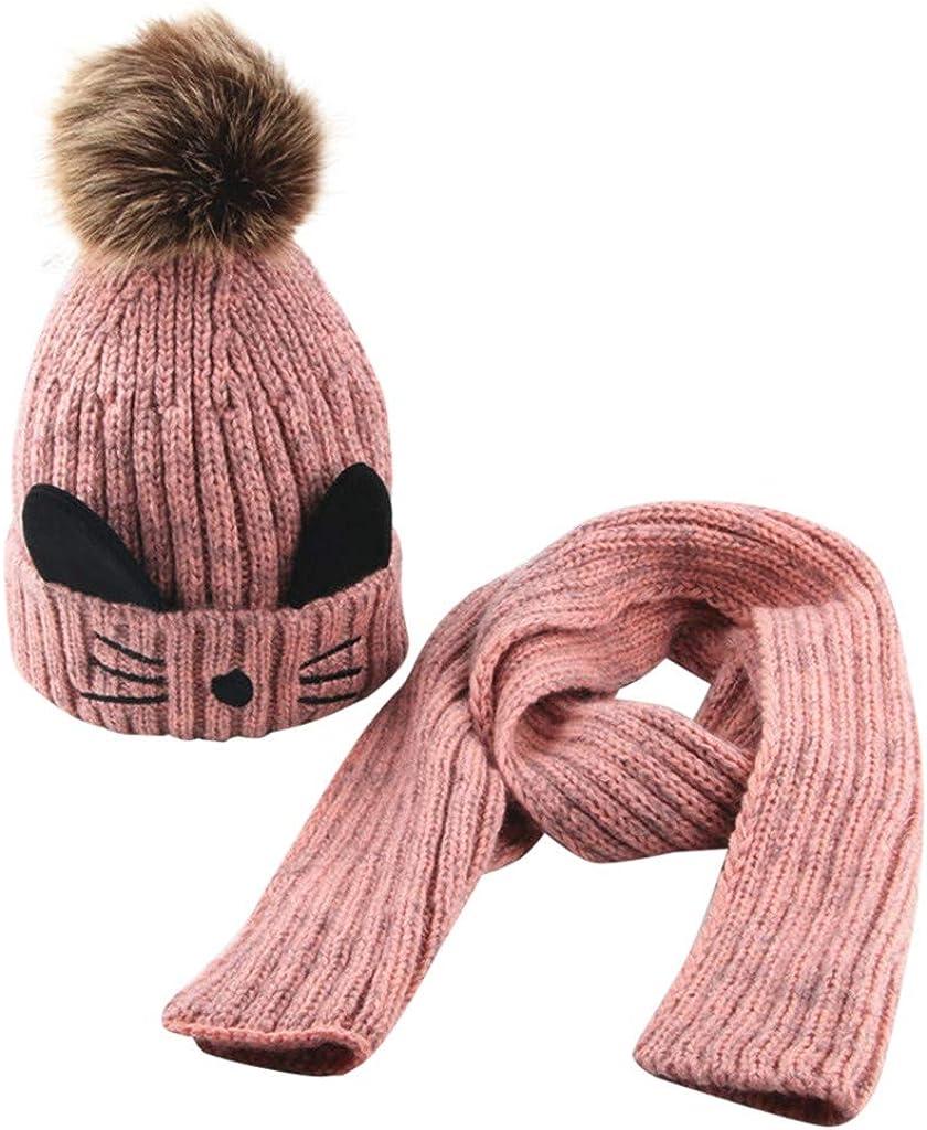 Little Kid Luxury goods Soft Winter Warm Hats Knitted Jchen Boys Opening large release sale Girls