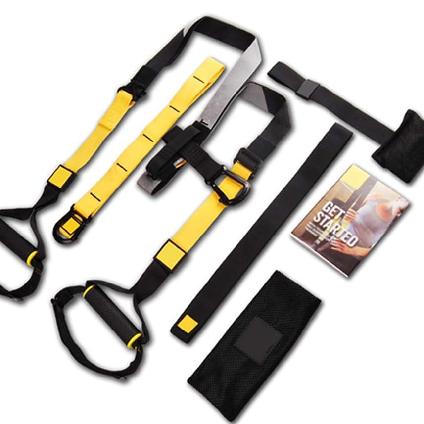 洞察力のある海外で仮定する吊り下げトレーニングベルトP7プルロープジム専用フィットネス機器 (色 : Suspension belt)