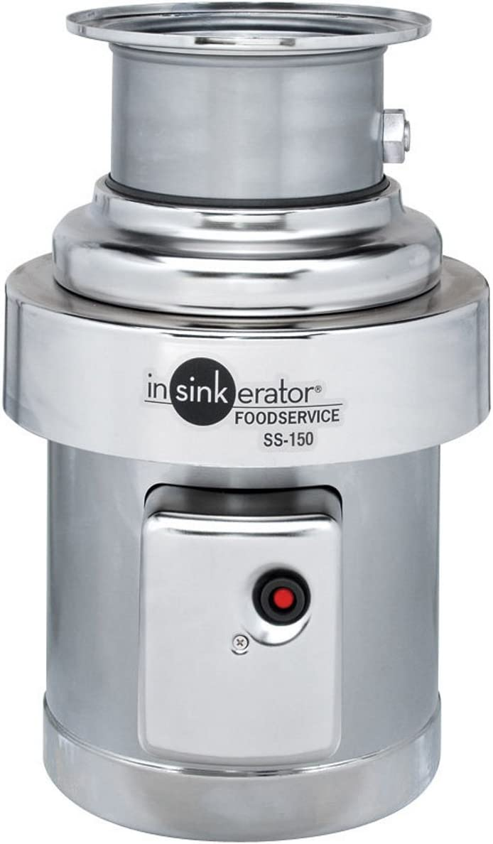 Insinkerator SS-150-36 1 2 HP Manufacturer regenerated Safety and trust product Commercial Garbage Disposal