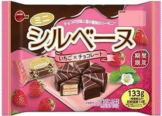 ブルボン ミニ シルベーヌ いちご × チョコレート 133g ×1袋