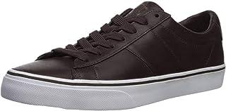 Ralph Lauren Mens Sayer Leather Brown Shoes