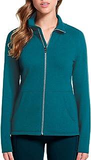 Skechers Ladies` Full Zip Fleece - Blue Medium