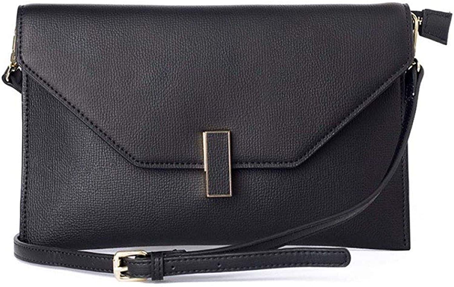 Ladies Handbag Lady Clutch Fashion Shoulder Fashion Cross Body Bag (color   Black, Size   One Size)