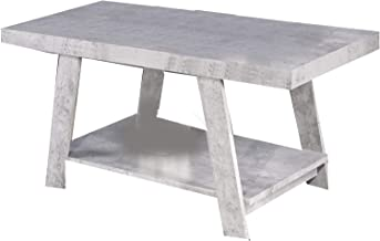 Jiwa Berani Gustine Coffee Table, Gray (Gtn-Mid-Gry)