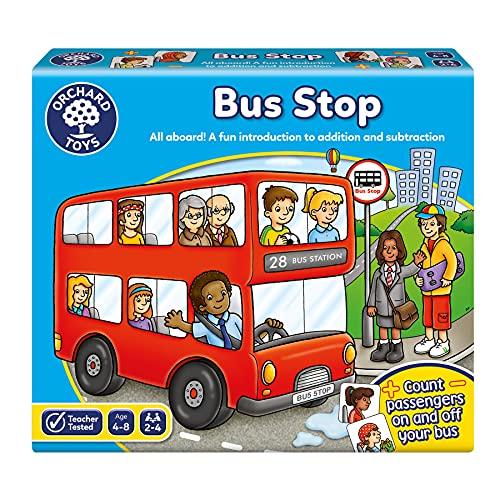 Orchard Toys -  Jeu de Société - L'arrêt de Bus'Bus Stop Game' - Langue: anglais