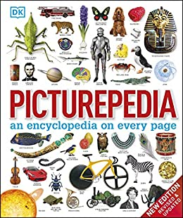Picturepedia: an encyclopedia on every page by [DK]