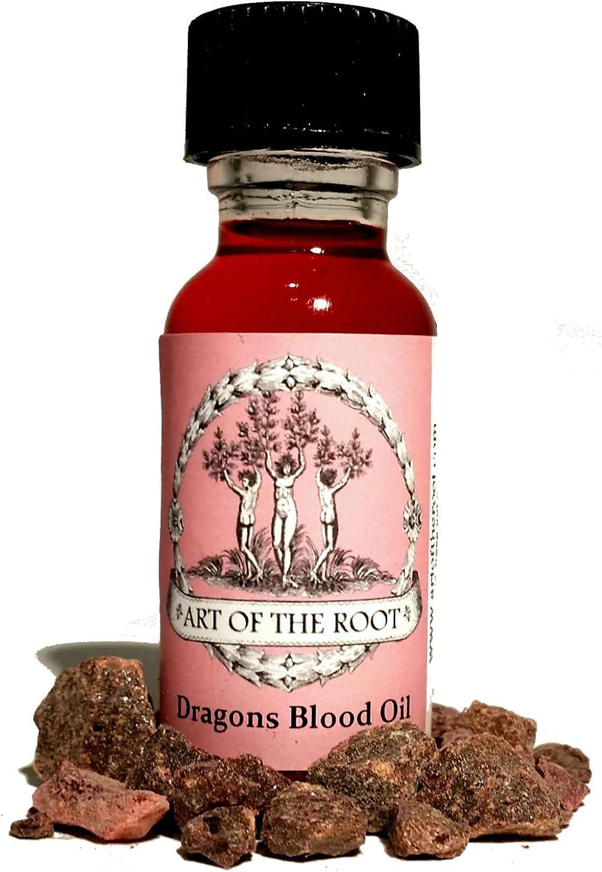 Dragons Blood Oil 1/2 oz Hoodoo Voodoo Wiccan Pagan Conjure