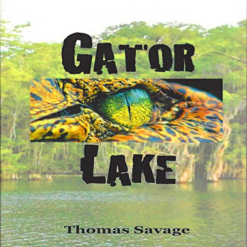 Gator Lake audiobook cover art