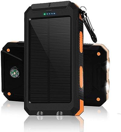 Solar Chargers 30,000mAh, LMS Portable Dual USB Solar...