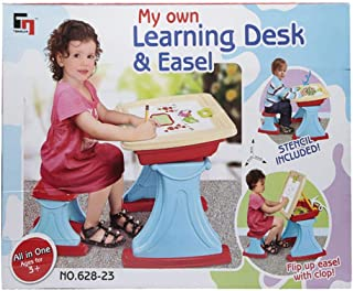 Kid's Learning Desk and Easel, 628-23