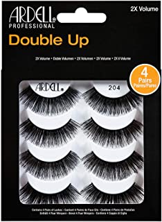 Ardell False Eyelashes 4 Pack Double Up 204, 1 pack (4 pairs per pack)