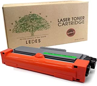 Ledes Brother TN630 Toner Cartridge Compatible for TN660 HL-2340dw MFC-L2740dw DCP-L2520dw Replacement High Yield Black