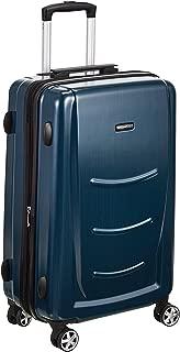AmazonBasics 78 cm Hardshell Check-in Size Suitcase, Navy Blue
