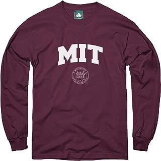Ivysport Cotton Long Sleeve T-Shirt with Crest Logo