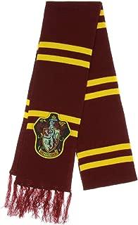 Harry Potter Gryffindor Patch Knit Scarf, Multi, One Size
