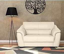 Furny Casagold 2 seater Leatherette Sofa (Cream)