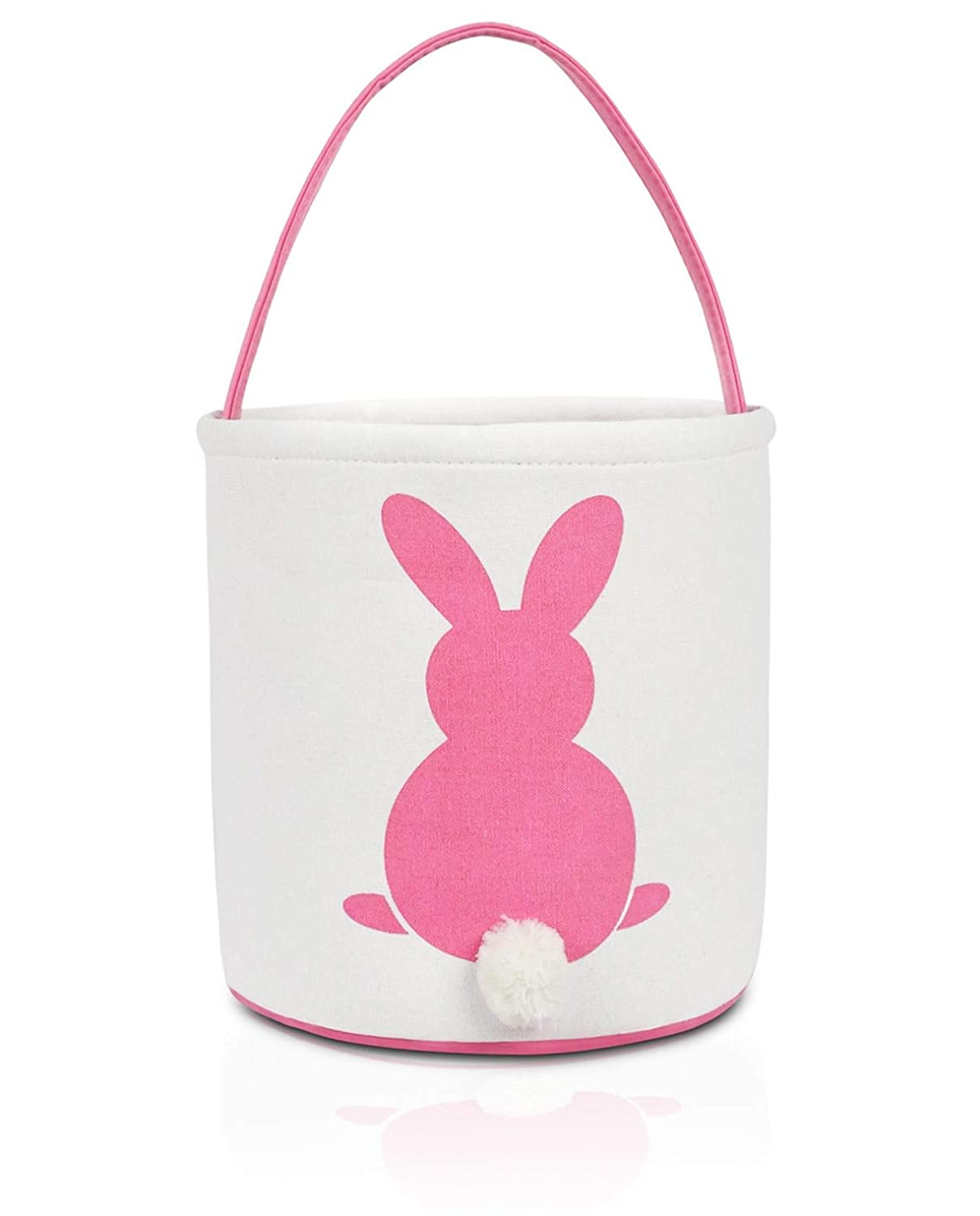 unisex MONOBLANKS Easter Bunny Basket Bags Kids Carry Luxury goods for Cotton Canvas