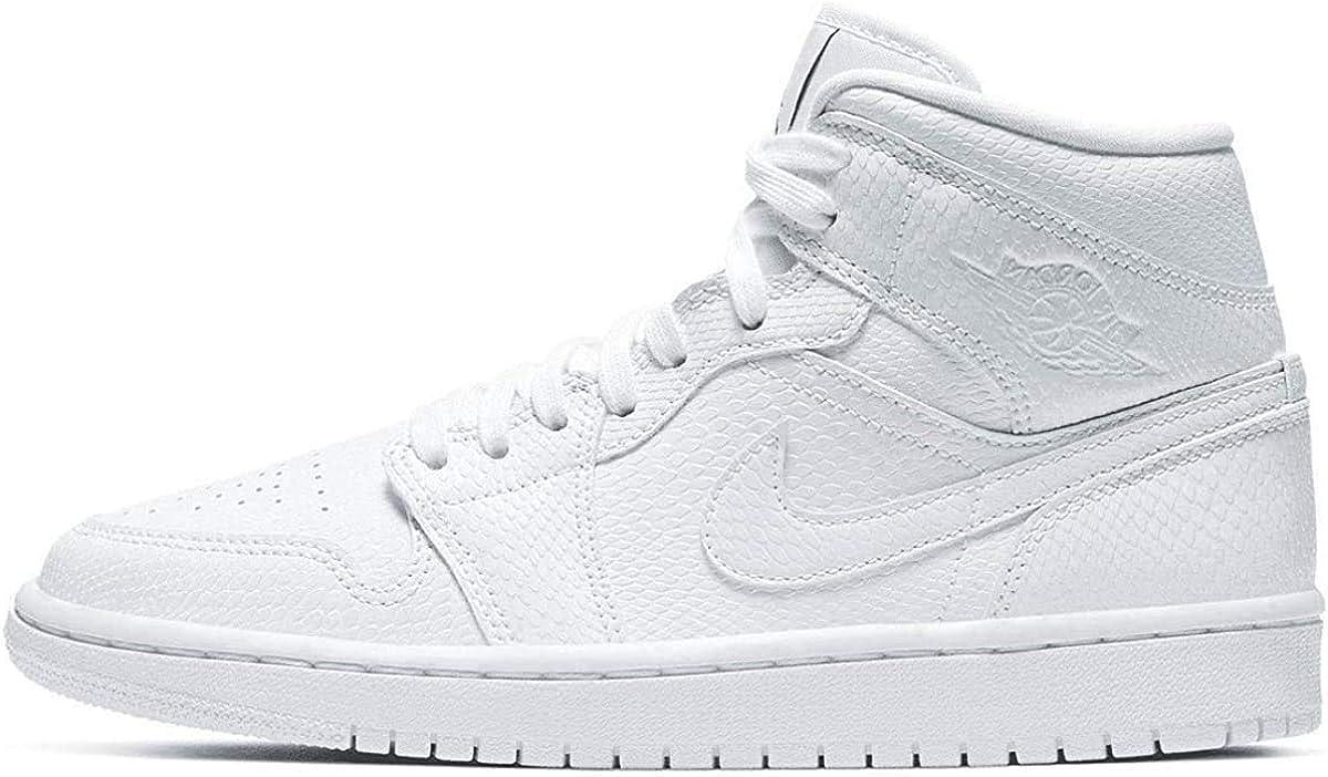 Nike WMNS Air Jordan 1 Mid, Chaussure de Basketball Femme : Amazon ...