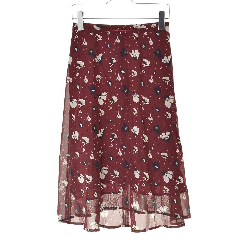 親スイ返還(マルティニーク) martinique 花柄フレア スカート