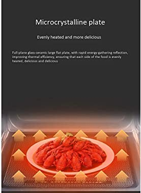 Manual Microwave Oven, Household 20 Liters Large Capacity/Multifunctional Smart Microwave Oven / 360 ° Stereo Heating