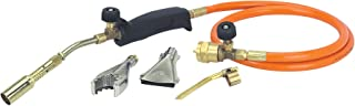 Propane Gas Torch Outfit Kit w/ 3 Burners for Melting Brazing Gold Silver Precious Metals and Welding Soldering Repairs