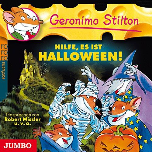 Hilfe, es ist Halloween!     Geronimo Stilton 9              Autor:                                                                                                                                 Geronimo Stilton                               Sprecher:                                                                                                                                 Robert Missler,                                                                                        Oliver Böttcher,                                                                                        Tanja Dohse                      Spieldauer: 47 Min.     6 Bewertungen     Gesamt 4,5