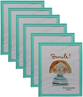 PP Modern Collection Photo Frame Turquoise Blue Plastic (8