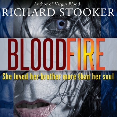 BloodFire audiobook cover art