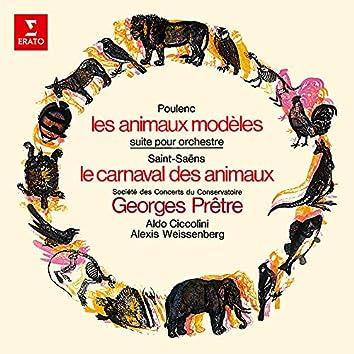 Poulenc: Les Animaux modèles - Saint-Saëns: Le Carnaval des animaux