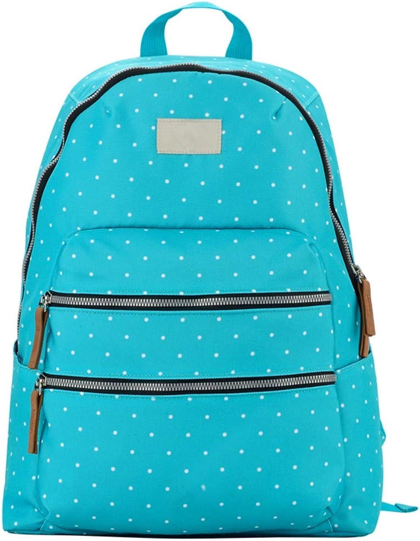 Cucsaistat Rucksack Mode-Trend-Tasche Rucksack wasserabweisend, blau