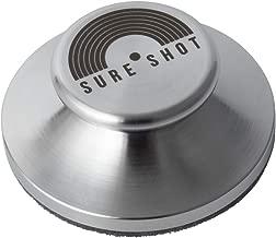 Sure Shot UFO アナログレコード用 EPアダプター・スタビライザー(ステンレス製)