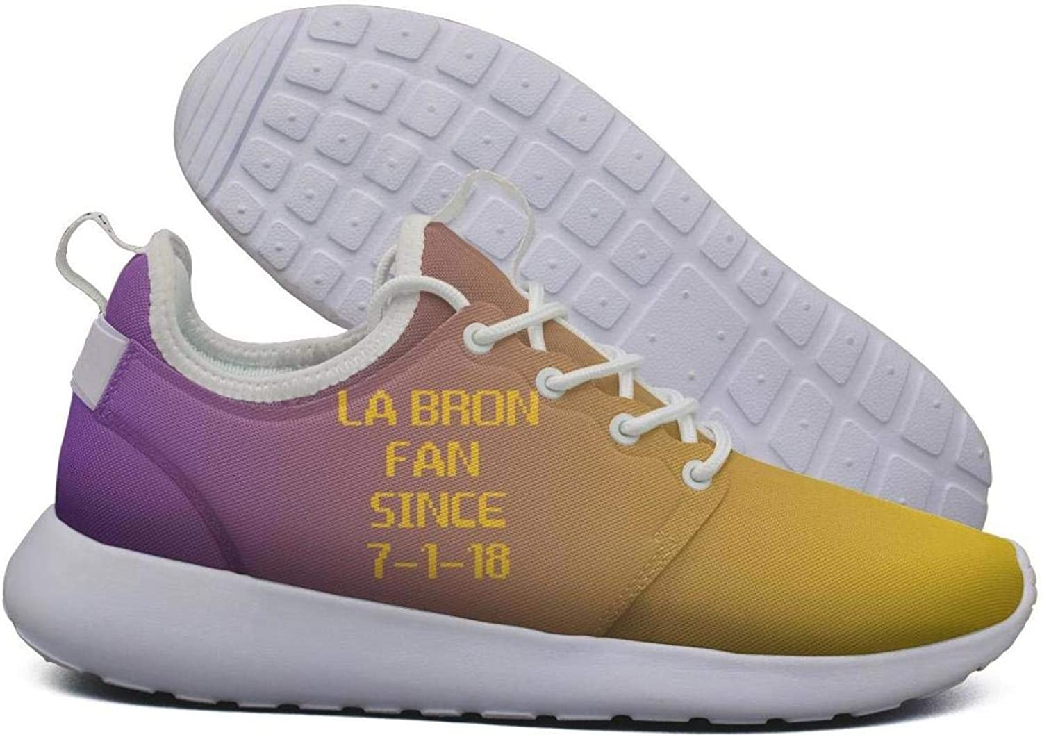 Womens Roshe Two Lightweight LABRON_Fan Since 7-7-18 Basketball Beautiful Fashion Sneakers mesh shoes