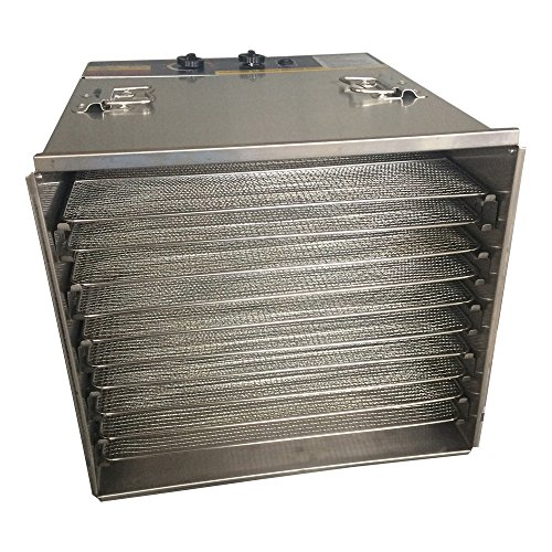 Why Choose New Commercial 10 Tray Stainless Steel Food Fruit Jerky Dryer Blower Dehydrator 239019