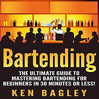 Bartending audiobook cover art