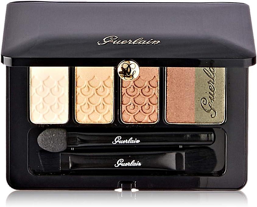 Guerlain Palette 5 Couleurs - # 03 Coque Dor by Guerlain for Women - 0.21 oz Eyeshadow, 6.3 ml