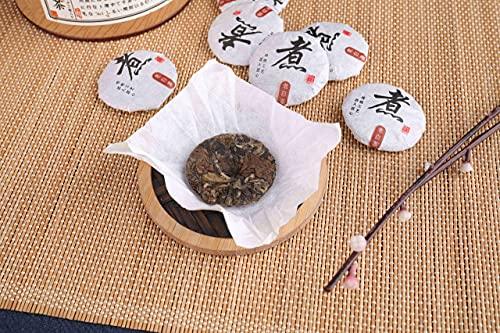 福建産 トップクラス 福鼎有機 白茶 美肌茶 茶葉 ホワイトティー 中国茶 オーガニック 茶餅155g (5g×31粒入)