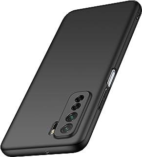 【Anccer】 スマホケース Huawei Nova 7 SE ケース おしゃれダート抵抗性能をドロップ超極薄オールインクルーシブ セキュリティ耐衝撃 (ブラック)