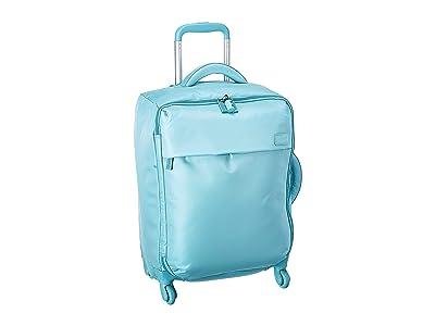Lipault Paris Original Plume Spinner 55/20 Carry-On (Coastal Blue) Carry on Luggage