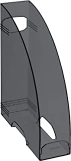 Rotho Timeless Fichier de magazine avec Trou pour les Doigts, Plastique (PP) sans BPA, Anthracite, A4 (29,8 x 24,2 x 8,2 cm)
