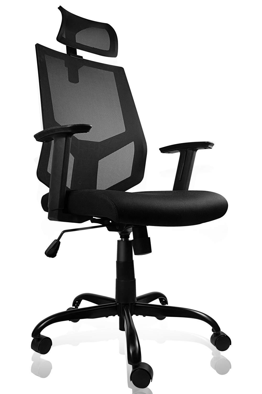 Ergonomic Office Adjustable Headrest Computer