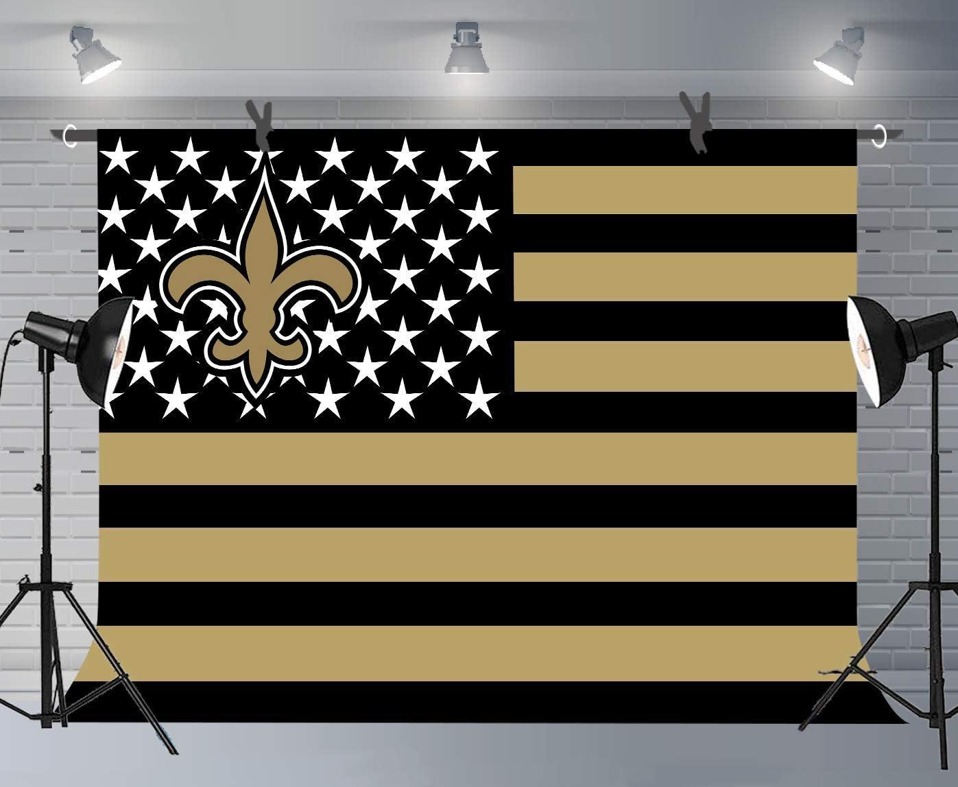 15x10ft Football Field Photography Background Studio Prop Decoration Wallpaper LYFU386