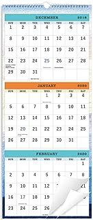 2020 Wall Calendar – 3-Month Display Vertical Calendar, Calendar Planner 2020,..