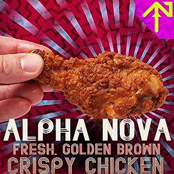 Fresh, Golden Brown, Crispy Chicken