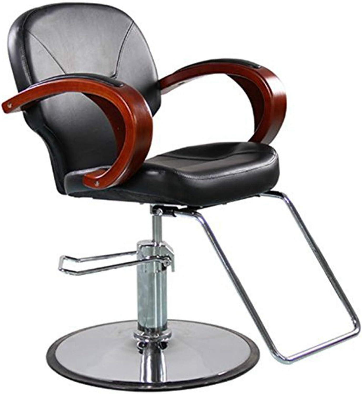 Funnylife Black Barber Our shop most popular Chair for Duty Rare Hair Salon Heavy Hydraulic