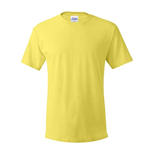 New Men/'s Essential Inside Out T-shirt Mustard Yellow Size S XL M L