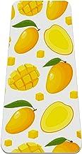 Cartoon Mango Geel Fruit Patroon Antislip Yoga Mat - Milieuvriendelijk TPE Dikke Fitness Oefenmatten Ideaal voor Pilates, ...