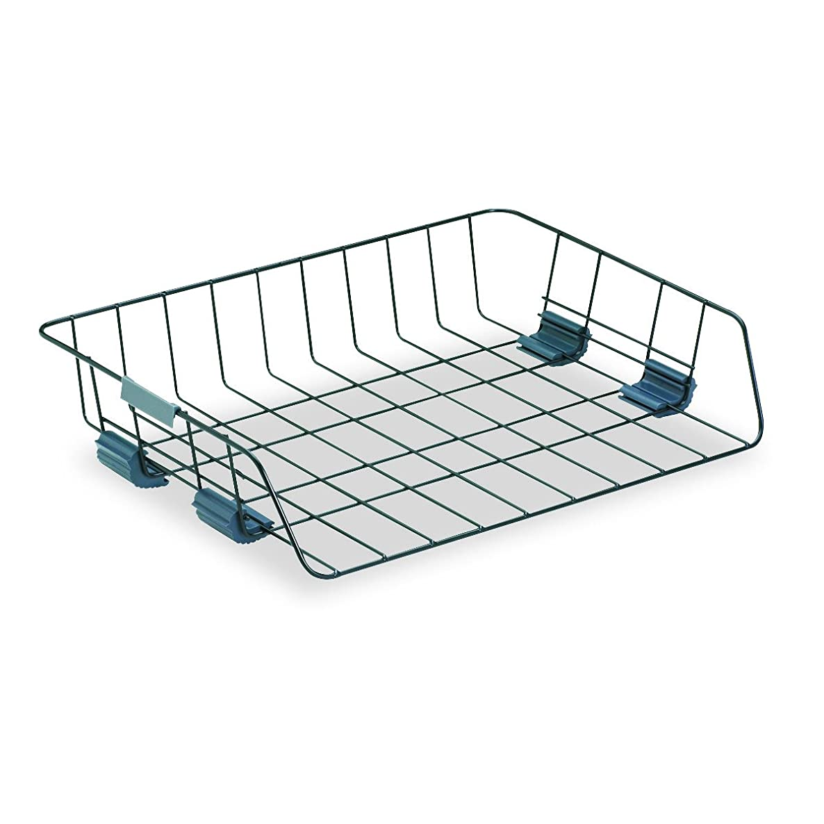 Fellowes Workstation Wire Tray, Side Load, Letter, Black (62112)