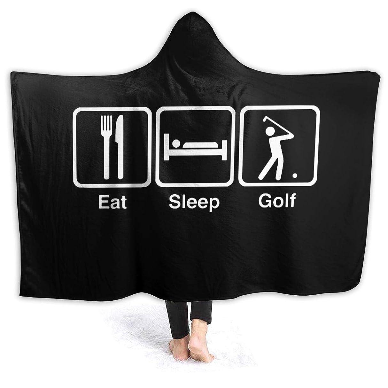 寛大な娯楽エキスパートHR.LLM ゴルフ フード付き毛布 着る毛布 毛布 膝掛け毛布 ラップタオル 冷房/防寒対策 防寒保温 防静電加工 軽量 厚手 大判