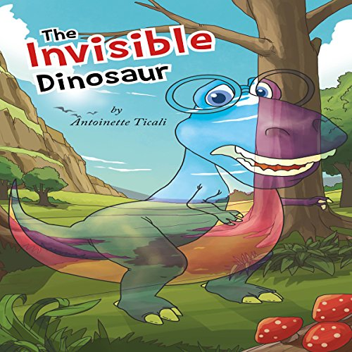 The Invisible Dinosaur audiobook cover art